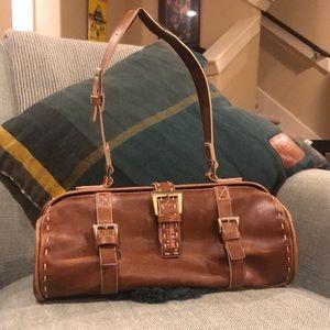 Matt & Nat- brown leather purse